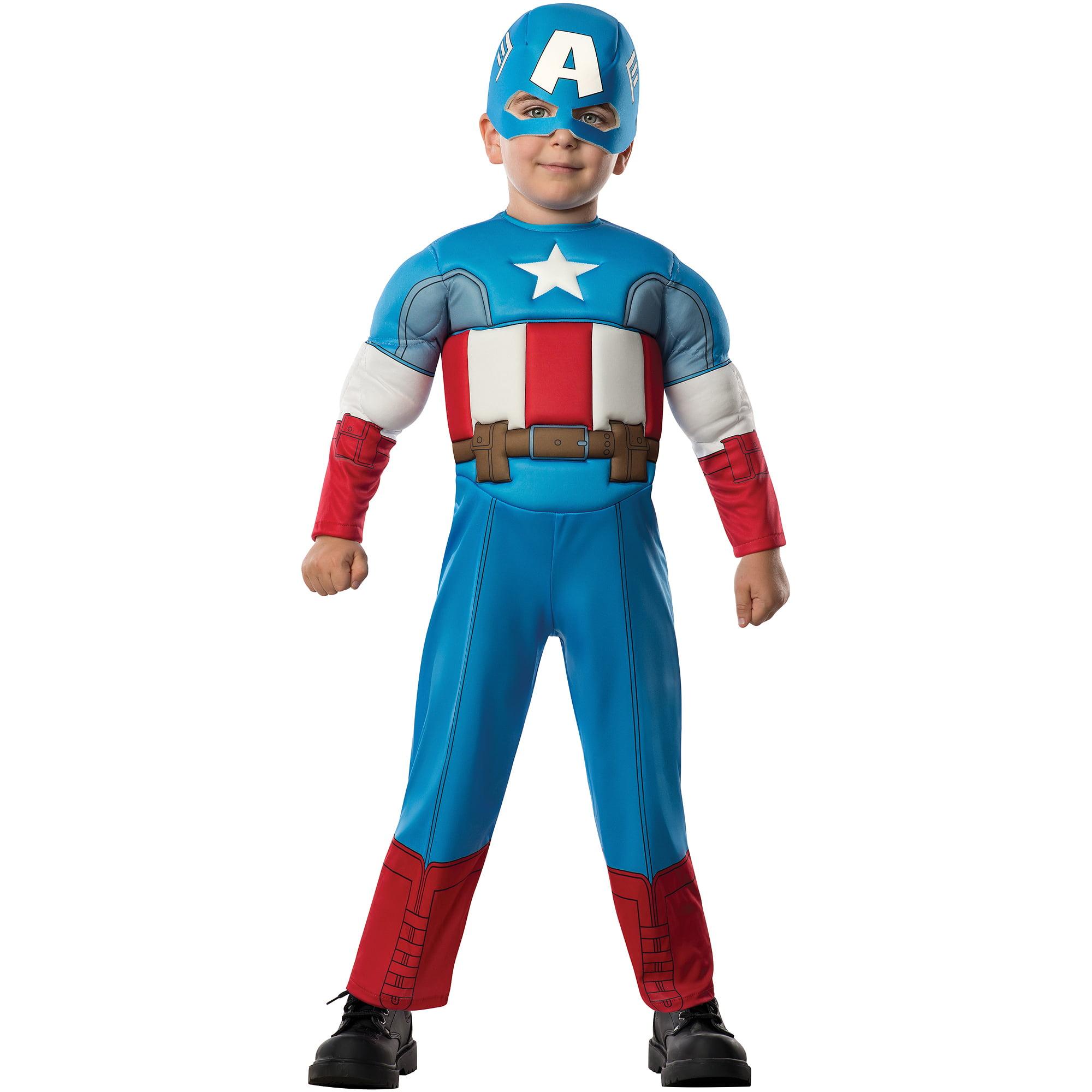 sc 1 st  Walmart.com & Avengers Captain America Toddler Halloween Costume - Walmart.com