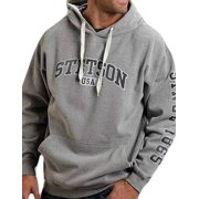 Stetson Western Sweatshirt Mens Hoodie Gray 11-097-0562-0721 GY