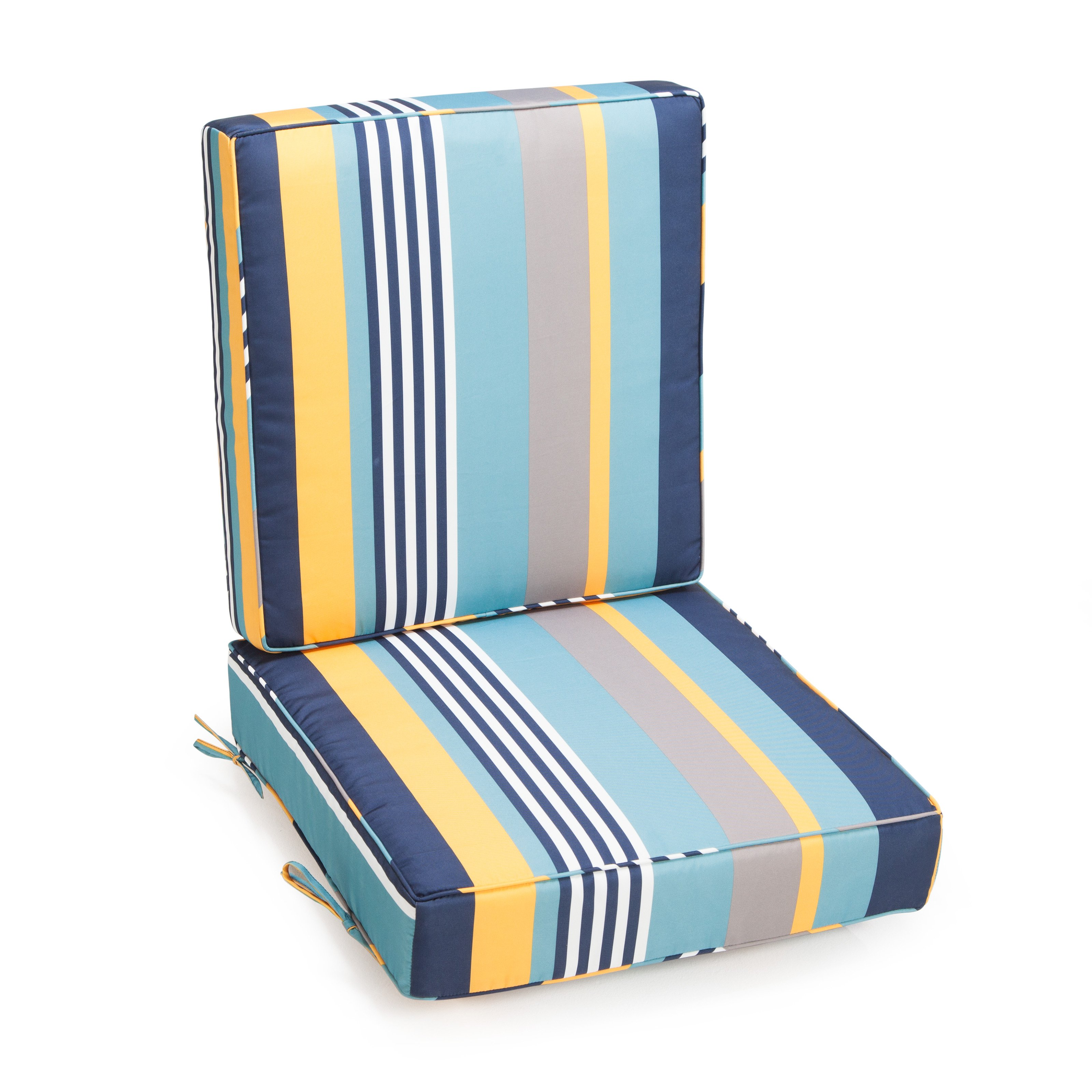 Coral Coast Classic Hinged Outdoor Deep Seating Cushion by Alfred Zahn Ltd