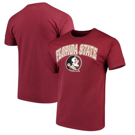 Men's Russell Garnet Florida State Seminoles Crew Core Print - Florida State Seminoles T-shirt