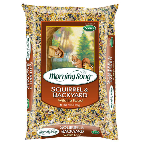 Morning Song Squirrel and Backyard Wildlife Food, 10lb