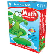 Carson Dellosa Education® CenterSOLUTIONS? Math Learning Games, Grade K