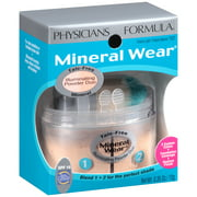 Mineral Wear Creamy Light/Creamy Natural Mineral Illuminating Powder Duo SPF 16 .35 oz. Package