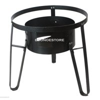 """19"""" Outdoor Cooking Stand Cast Iron Super Gas Propane Stove Portable Camp Burner"""