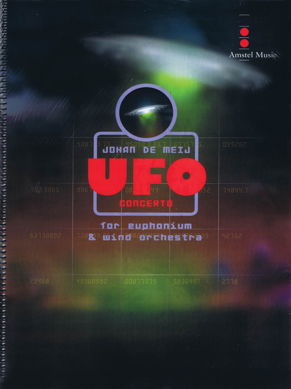 Amstel Music UFO Concerto (for Euphonium and Wind Orchestra) (Score Only) Concert Band... by Amstel Music