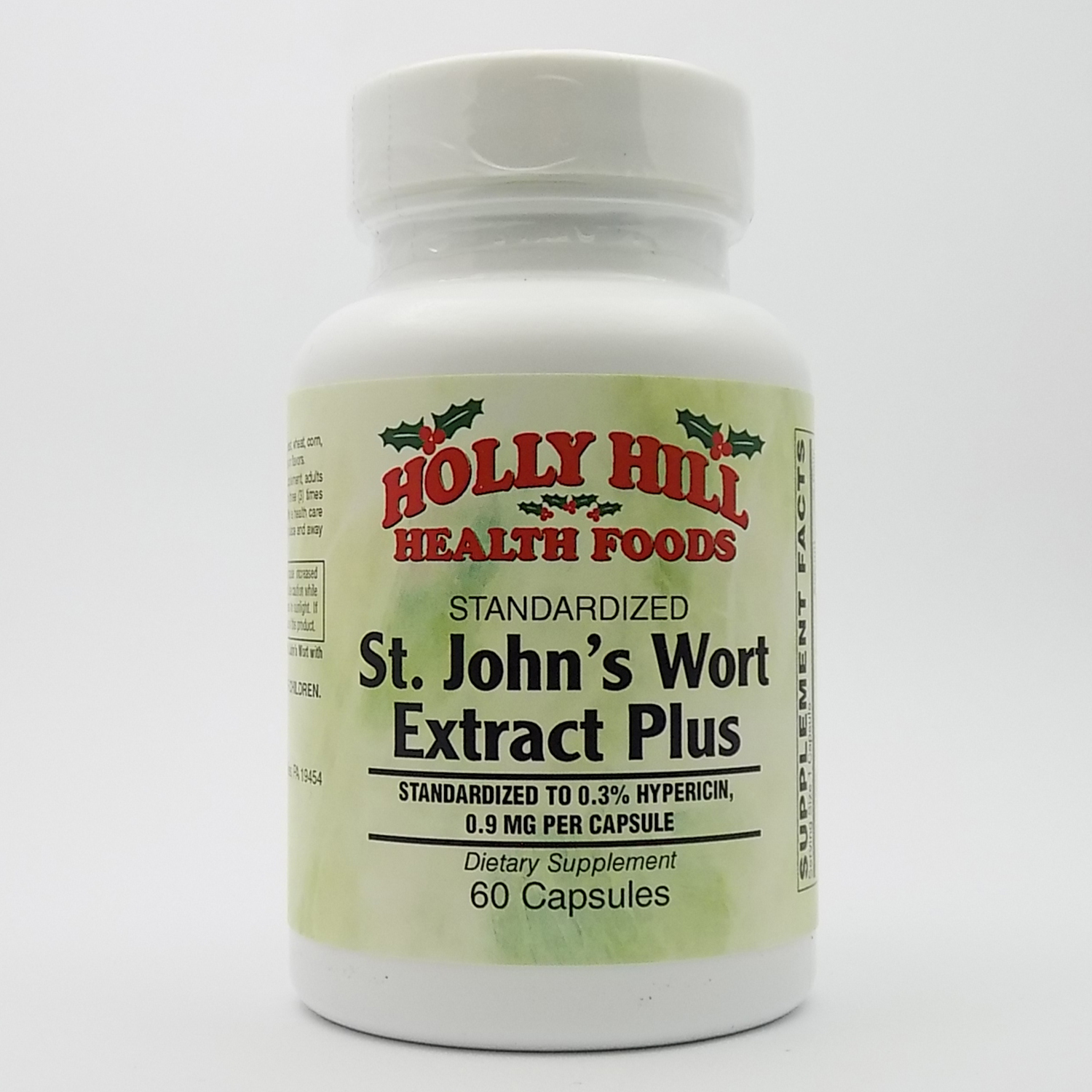 Holly Hill Health Foods, Standardized St. John's Wort Extract Plus, 60 Capsules