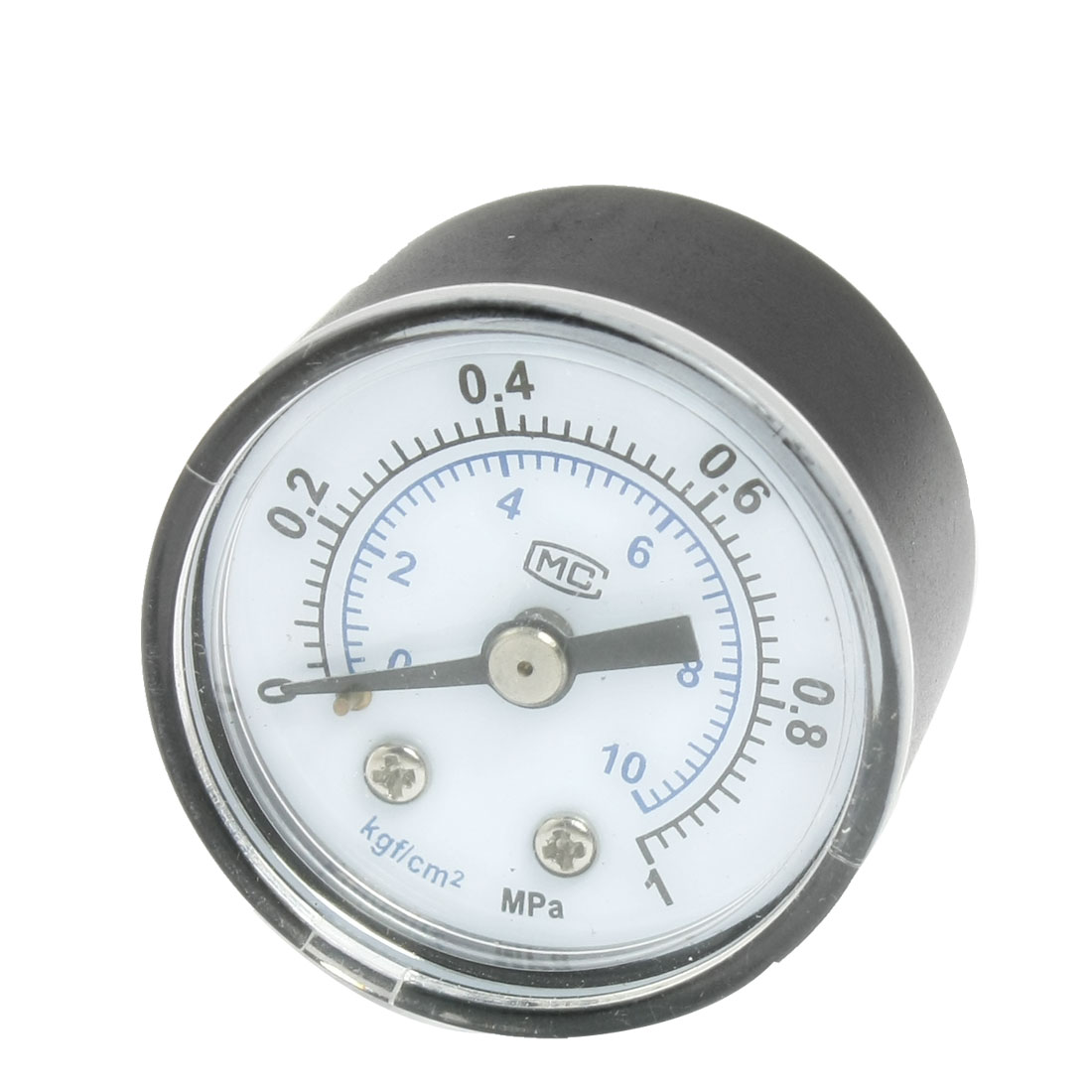 "Unique Bargains Air Compressor Black Numeral 0-1MPa 3/8"" Thread Pressure Gauge Jrjki"