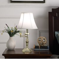 "22.5"" In Dalia Gold Swing Arm Table Lamp"