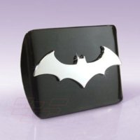 Batman (3D) All Metal Black Hitch Cover