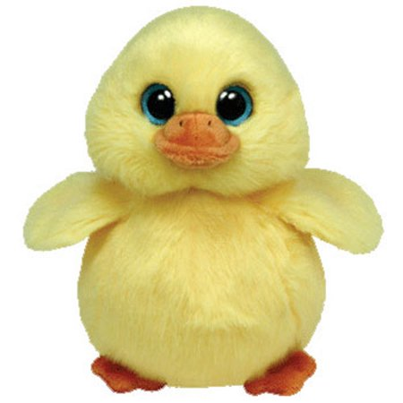 TY Beanie Baby - DUCKLING the Yellow Duck (6 inch) 1d0b73d7663