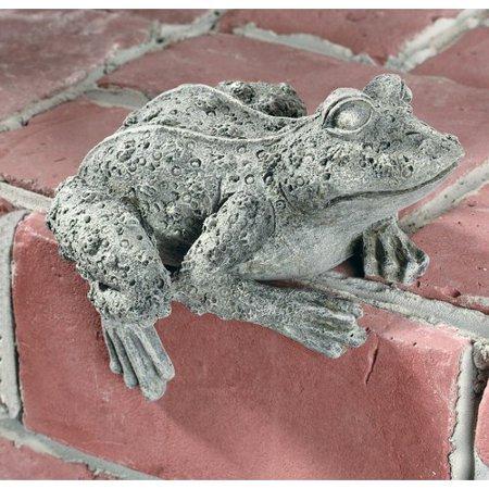 Ladybug Garden Decor Frog Key Safe Statue