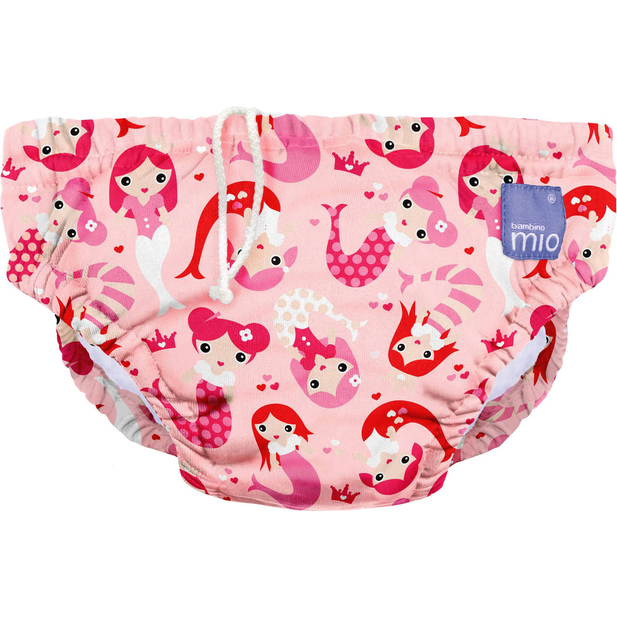Bambino Mio Reusable Swim Diaper, Mermaid, (Choose Your Size)