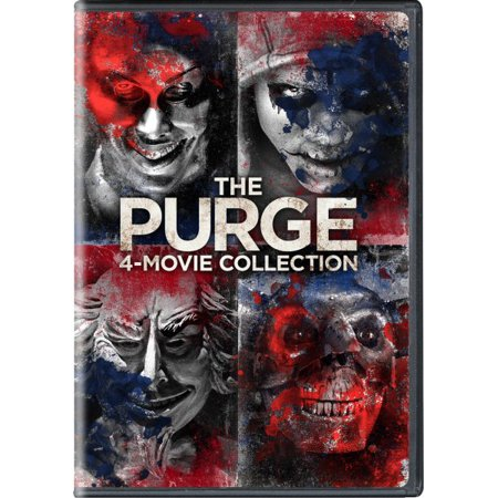 The Purge: 4-Movie Collection (DVD) - The Purge Characters Halloween