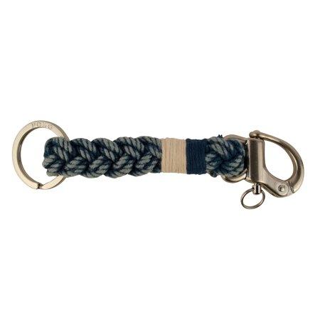 Polo Ralph Lauren Snap-Shackle Braided Key Fob Key Chain