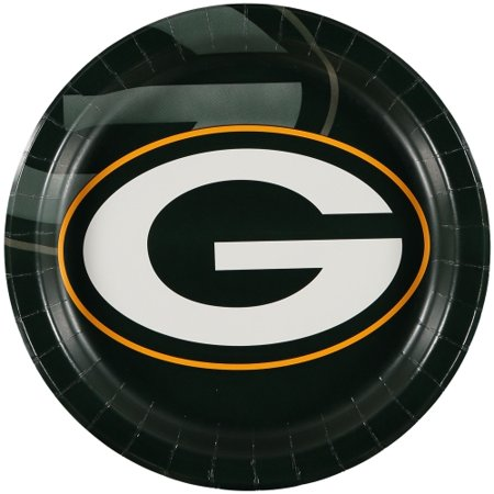 Green Bay Packers Gold Plated (Green Bay Packers 8-Pack Dinner Plates - No Size )