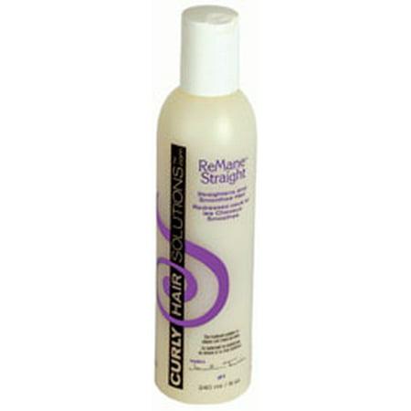 Curly Hair Solutions - Curly Hair Solutions ReMane Straight, 8.0 fl. oz.