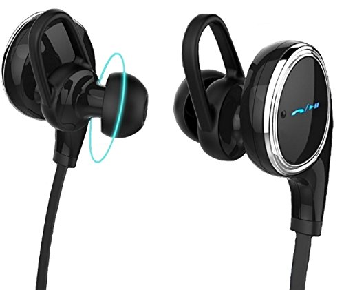 E Tronic Edge Slim Sports Bluetooth Earbuds Headset with ...