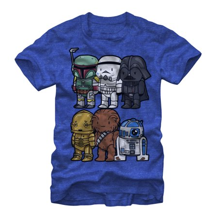 Star Wars Men's Cartoon Characters T-Shirt (Dash Cartoon Character)