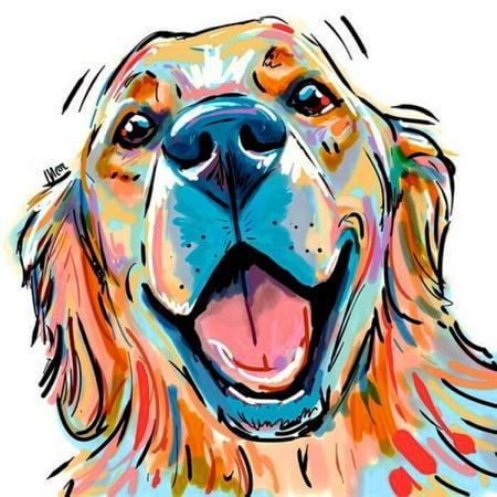 Electronicheart 5D Rhinestone Color Pug Dog Painting DIY Cartoon Animals Crafts Resin Needlework Crystal Cross Stitch - image 2 of 8