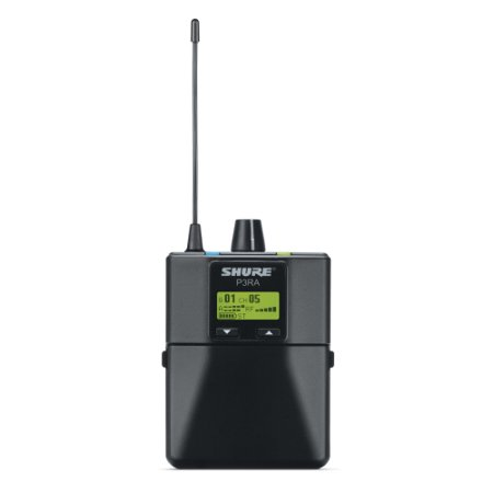 shure p3ra professional bodypack receiver for psm300 stereo personal monitor system, g20 (Shure Bodypack Receiver)
