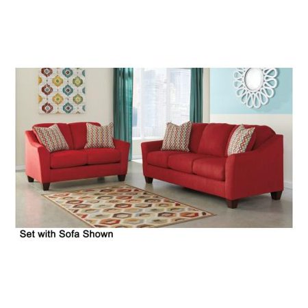 Ashley Hannin 95801QSSL 2 Piece Living Room Set With Queen Sofa Sleeper And L