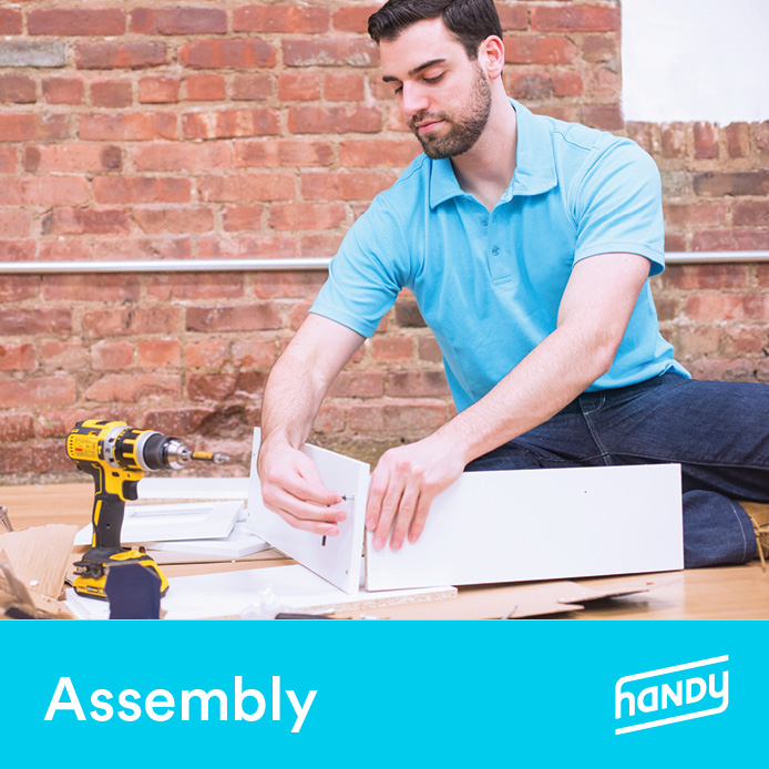 Foosball Table Assembly by Handy