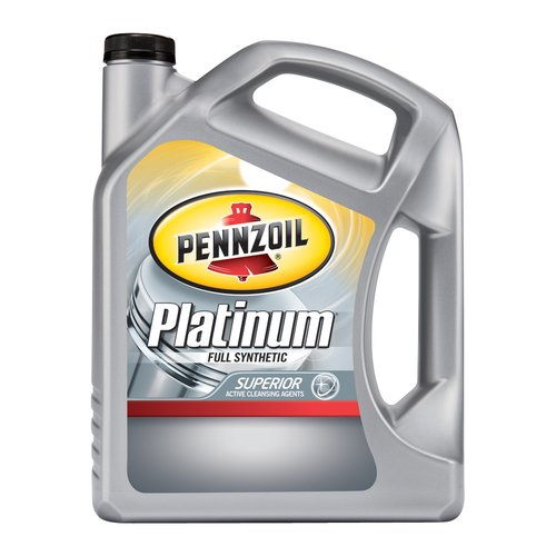 Pennzoil 0W20 Platinum Motor Oil, 5-qt
