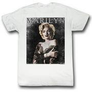 Marilyn Monroe Men's  Arm Holder T-shirt White