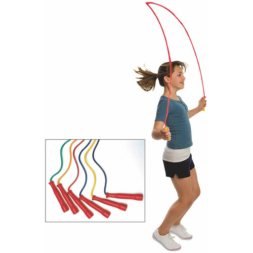 Spectrum Jump Ropes, Set of 6, 10'