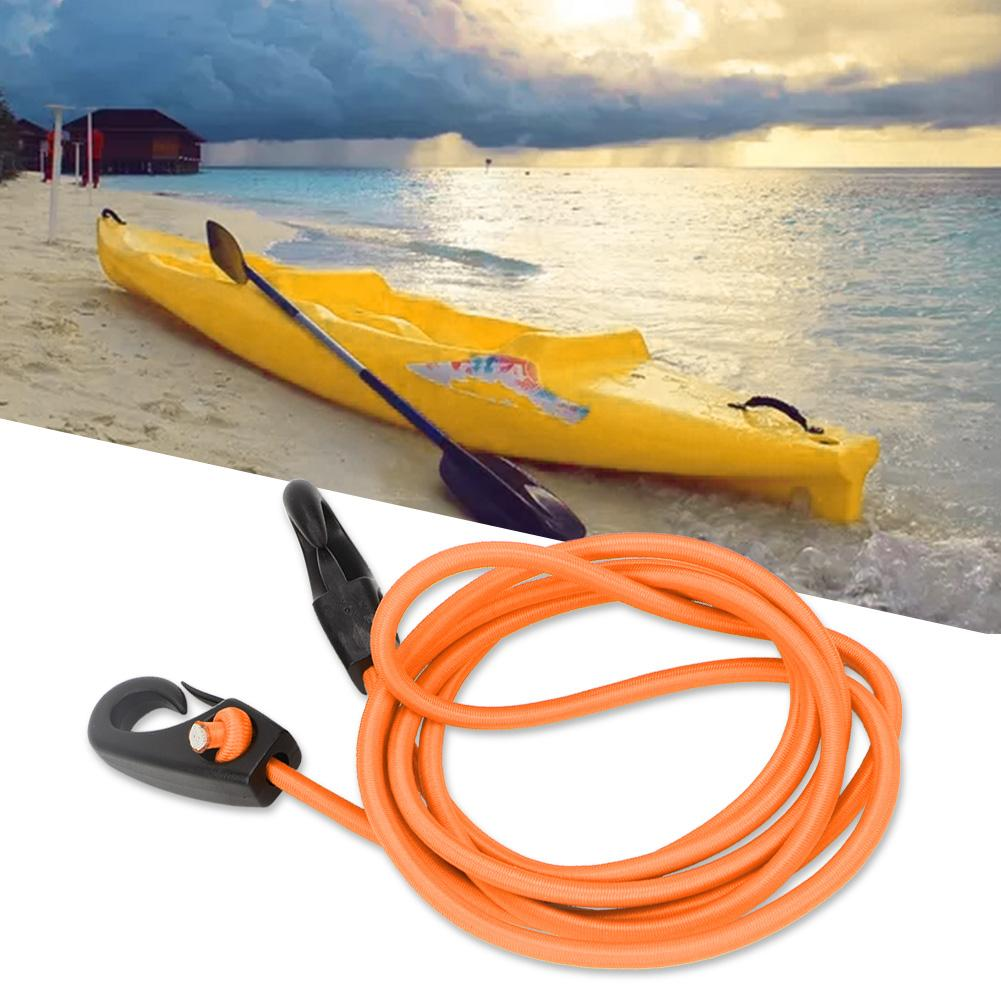 Kayak Paddle W// Leash Boating Kayaking Outdoor Water Sports Lightweight Red New