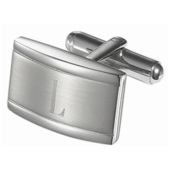 VCUFF700-L Taurus Personalized Stainless Steel Cufflinks - L - image 1 de 1