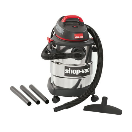 Shop-Vac, 6 Gallon 4.5 Peak HP Stainless Steel wet/dry - Dry Portable Shop
