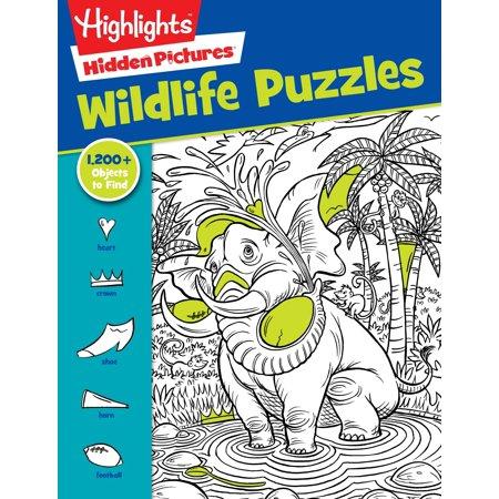 Highlights Books (Wildlife Puzzles)