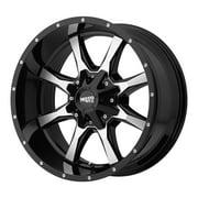 Moto Metal mo970 18x9 6x135/6x139.7 18et 106.25mm gloss black machined face wheel