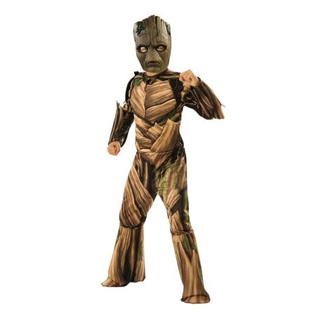 Marvel Avengers Infinity War Teen Groot Deluxe Boys Halloween Costume