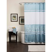 Charlotte Blue Shower Curtain