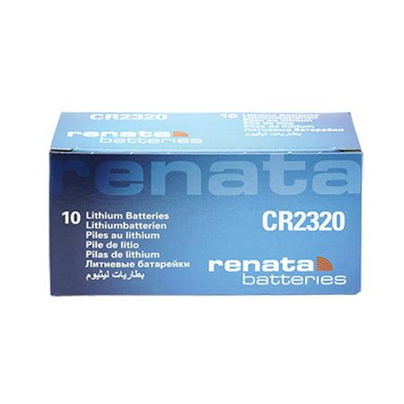 10 x Renata 2320, Piles au lithium 3V CR2320 - image 2 de 2