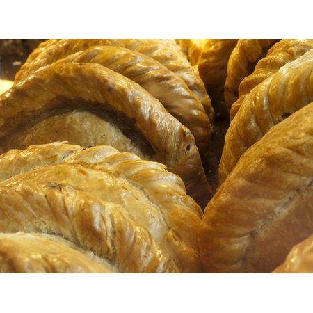Cornish Pasties, Padstow, Cornwall, England, United Kingdom, Europe Print Wall Art By Alan (Europa Art)