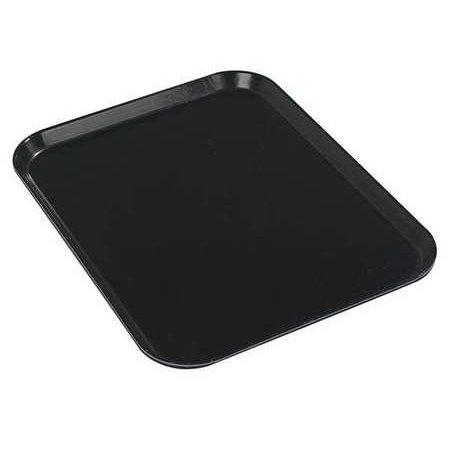 CARLISLE 1410FG004 Glasteel Tray, 10 x 14, Black, PK 12 ()