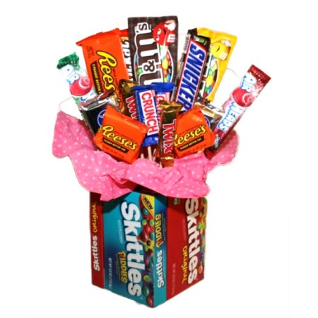 - Skittles Candy Bouquet