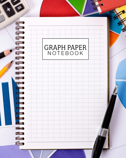 graph paper notebook  8 x 10 large graph paper notebook