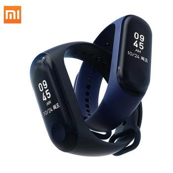 Color Screen Smart Bracelet IP67 Wristband Heart Rate Monitor Blood  Pressure Bracelet Fitness Tracker MI Band 3