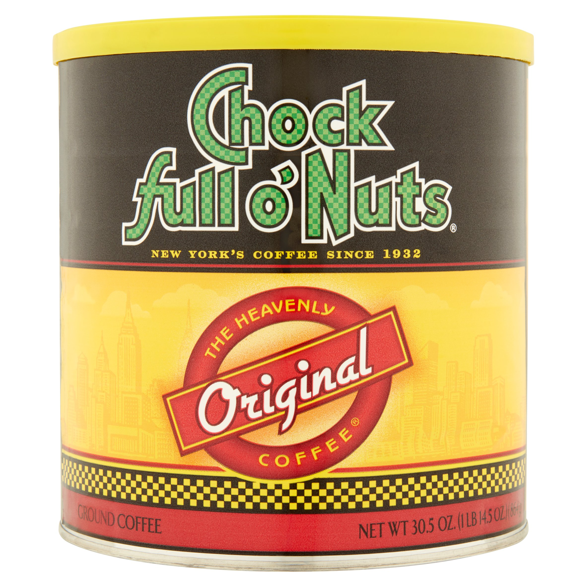 Chock full o'Nuts Original Ground Coffee 30.5 oz Can
