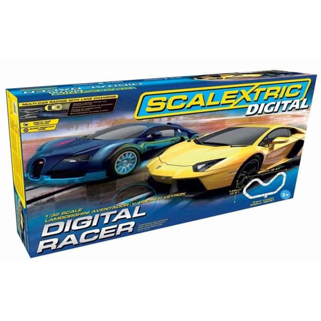 Scalextric C1327T Digital Racer 1-32 Slot Car Race Set, Age 8 Plus