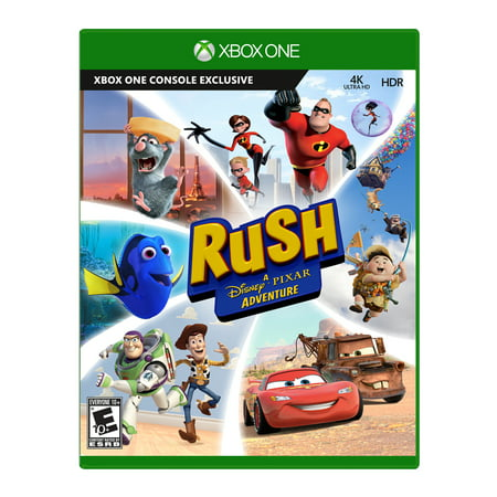 Pixar Rush Microsoft Xbox One 889842228373