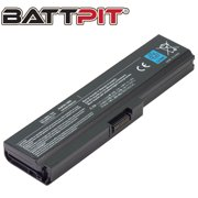 BattPit: Laptop Battery Replacement for Toshiba Satellite L775-S7105, PA3817U-1BRS, PA3818U-1BRS, PA3819U-1BRS (10.8V 4400mAh 48Wh)