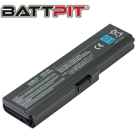 BattPit: Laptop Battery Replacement for Toshiba Satellite L640-00U, PA3816U-1BAS, PA3816U-1BRS, PA3817U-1BAS (10.8V 4400mAh 48Wh) (00u Laptop Battery)