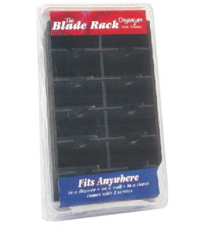 Clipper Blade Rack Holds 10 Blades, The Blade Rack conveniently stores up to 10