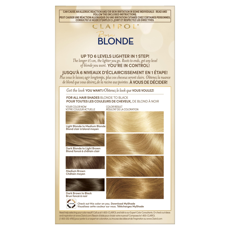 Clairol Nice N Easy Born Blonde Ultimate Blonding Bleach Blonde