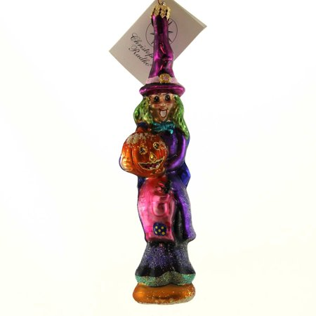 Christopher Radko LEAN N MEAN Glass - Christopher Radko Halloween